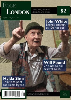 Folk London front page April-May 2020