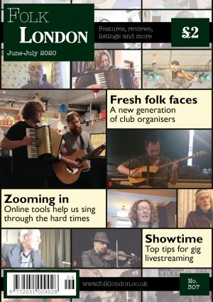 Folk London front page June-July 2020