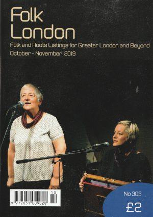 Folk London October-November 2019 front page