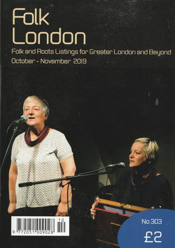 Folk London October-November 2019 front page