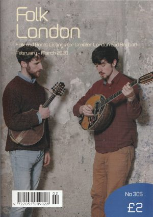 Folk London February-March 2020 front page