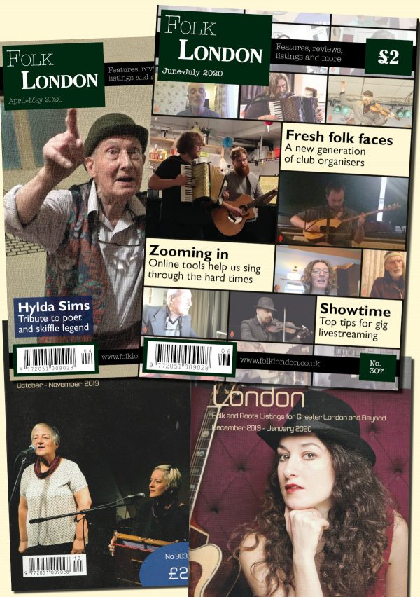 Folk London front pages composite
