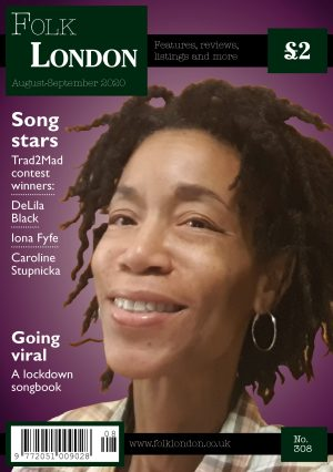 Folk London August-September 2020 front page