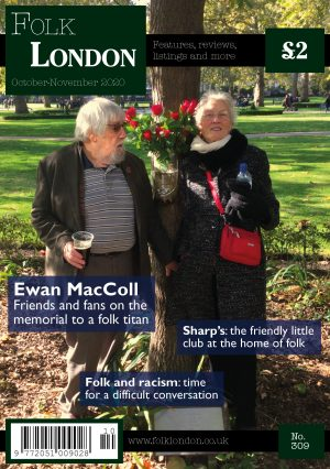 Folk London October-November 2020 front page
