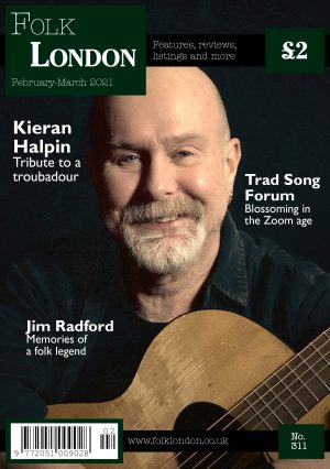 Folk London front page February-March 2021