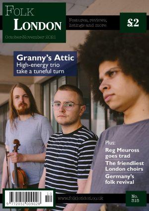 Folk London front cover October-November 2021